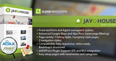 Javo House - Real Estate WordPress Theme 2