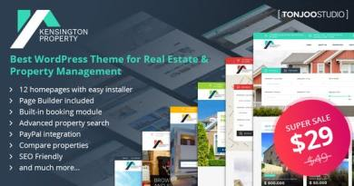 Kensington - Real Estate and Property Management WordPress Theme 4