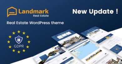 Landmark - Real Estate WordPress Theme 3
