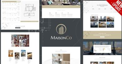 MaisonCo - Single Property WordPress Theme 3