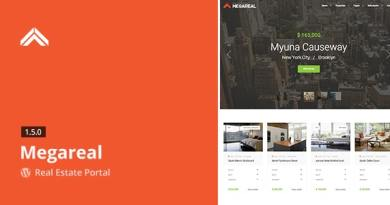 Megareal - Real Estate Portal WordPress Theme 3