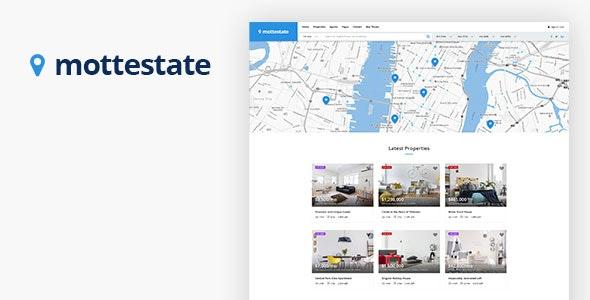 Mottestate - Real Estate WordPress Theme 1