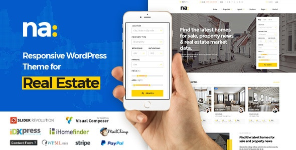 NA - Responsive WordPress Theme for Real Estate 21