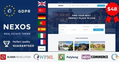 Nexos - Real Estate WordPress Theme 3