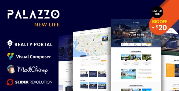 Palazzo - Real Estate WordPress Theme 1