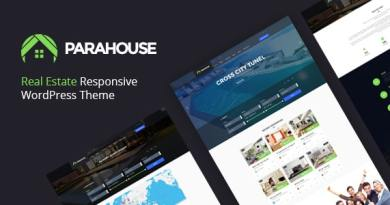 Parahouse - Real Estate WordPress Theme Responsive 6
