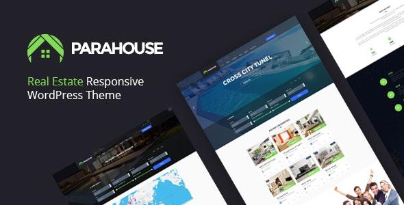 Parahouse - Real Estate WordPress Theme Responsive 1