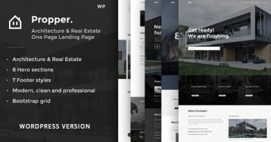 Propper - Architecture WordPress Theme 3