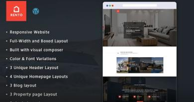 Real Estate WordPress Theme - Rento 4