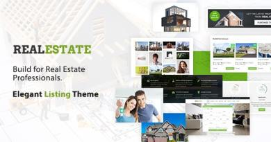 Real Estate WordPress Theme 2