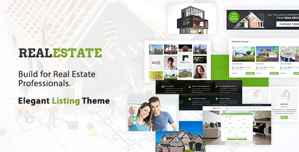 Real Estate WordPress Theme 1