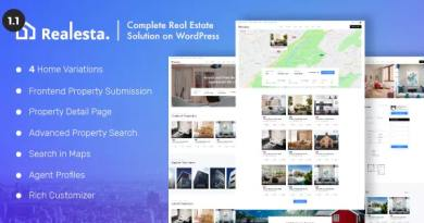 Realesta - Property Sales & Rental WordPress Theme 38