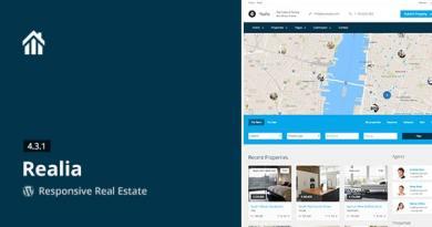 Realia - Responsive Real Estate WordPress Theme 5