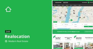 Realocation - Modern Real Estate WordPress Theme 3