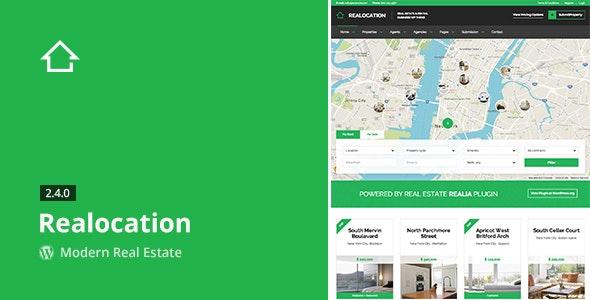 Realocation - Modern Real Estate WordPress Theme 1