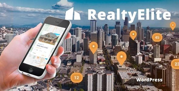 RealtyElite - Real Estate & Property Sales WordPress Theme 1