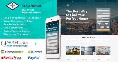 Realtyspace - Real estate WordPress Theme 4