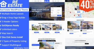 ReEstate - Real Estate with MLS IDX Listing Realtor Theme 2