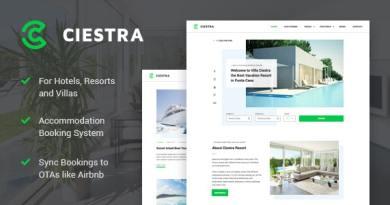 Resort Hotel WordPress Theme - Ciestra 4