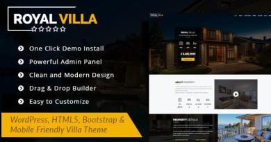 RoyalVilla - WordPress Theme for Single Property 4