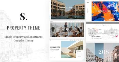 Sagen - Single Property and Apartment Complex Theme 2