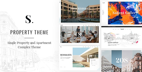 Sagen - Single Property and Apartment Complex Theme 4