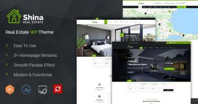 Shina - Real State Property WordPress Theme 6