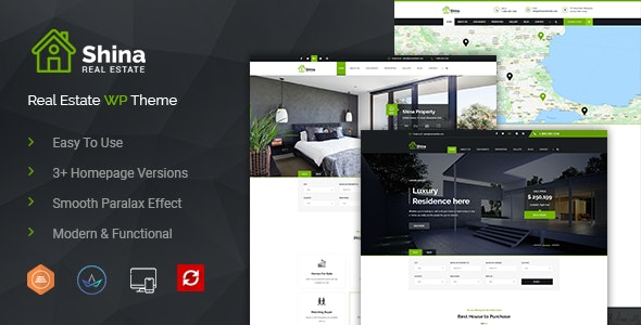 Shina - Real State Property WordPress Theme 10