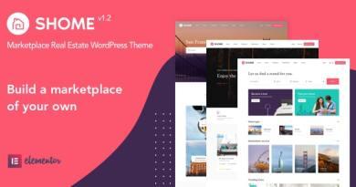 SHome | Marketplace Real Estate WordPress Theme 7