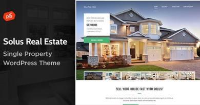Solus - Single Property Theme 4