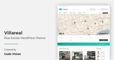 Villareal - Real Estate WordPress Theme 3