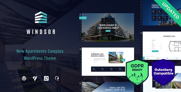 Windsor - Apartment Complex / Single Property WordPress Theme 1