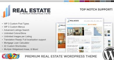 WP Pro Real Estate 2 WordPress Theme 3