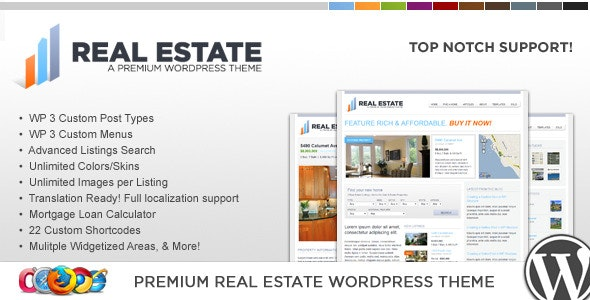 WP Pro Real Estate 2 WordPress Theme 11
