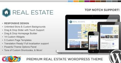 WP Pro Real Estate 3 Responsive WordPress Theme 8