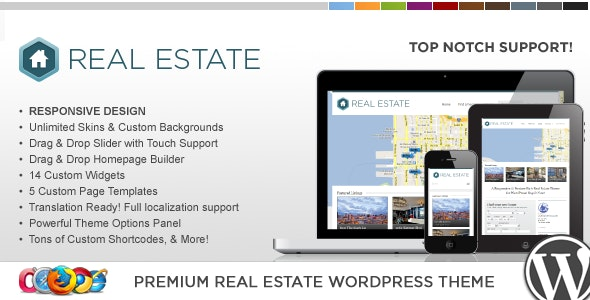 WP Pro Real Estate 3 Responsive WordPress Theme 10