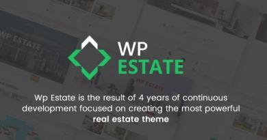 WpEstate Real Estate WordPress Theme 4