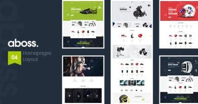 Aboss - Responsive Theme for WooCommerce WordPress 2