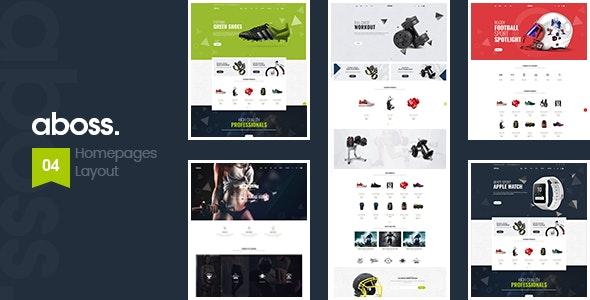 Aboss - Responsive Theme for WooCommerce WordPress 21