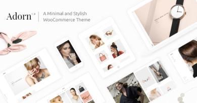 Adorn - Minimal WooCommerce Theme 4