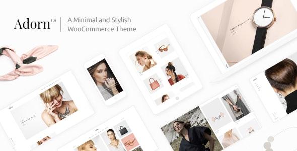Adorn - Minimal WooCommerce Theme 1
