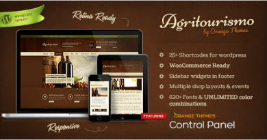 AgriTourismo - Responsive WooCommerce Theme 4