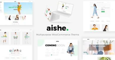 Aishe - Multipurpose WooCommerce Theme 10