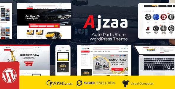 Ajzaa - Auto Parts Store WordPress Theme 1