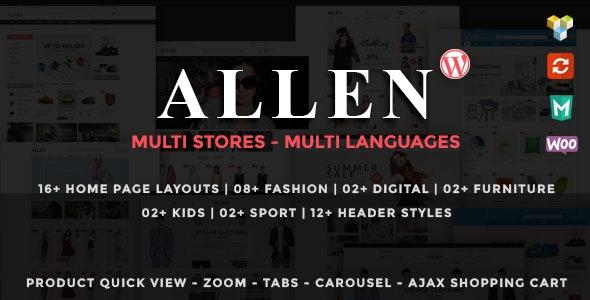 Allen - Multipurpose Responsive WooCommerce Theme 19
