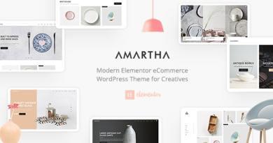 Amartha - Modern Elementor WooCommerce Theme 4