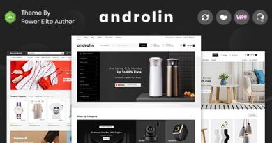 Androlin - Multipurpose WooCommerce Theme 3
