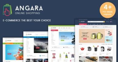 Angara - Responsive WooCommerce WordPress Theme 2