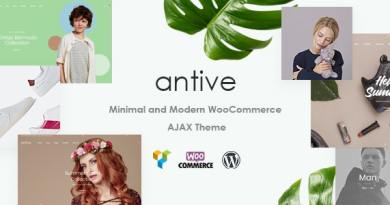 Antive - Minimal and Modern WooCommerce AJAX Theme (RTL Supported) 4