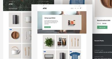 Atik - A Simple WordPress Theme for your Online Store 4